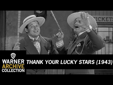 Thank Your Lucky Stars (1943) –  Jack Carson & Alan Hale Sr - Going North
