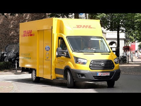 Deutsche Post StreetScooter WORK XL Electric Delivery Van