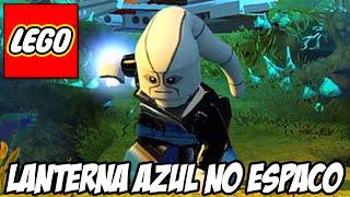Lego Batman 3 - Lanterna AZUL no espaço