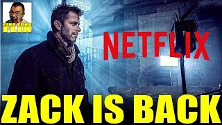 Zack Is Back – Zack Snyder Partners With Netflix On New Movie, What About The Snyder Cut?