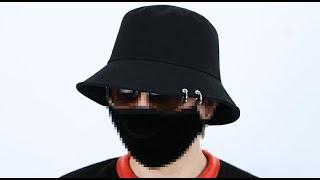 롤프 남자 남성 링 피어싱 벙거지 버킷햇 패션 모자 밀…