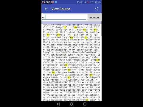 Android Html Viewer