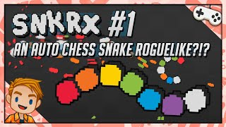 AN AUTO CHESS SNAKE ROGUELIKE?!?   Let's Play SNKRX   Part 1   PC Gameplay