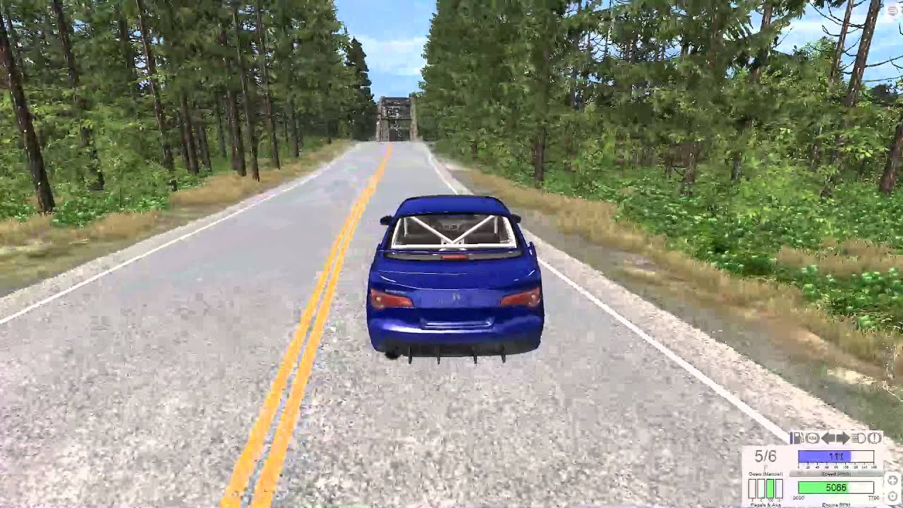 BeamNG Drive: Car Crash Simulator - YouTube