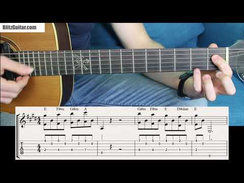 Chords That Sing A Beautiful Melody! Only Possible In E Major.