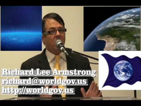 World Leader Address The Nations Richard Lee Armstrong