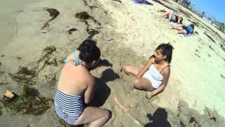 Beer Belly Boy or Pregnant? Ocean Park Beach, California