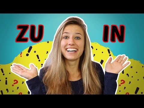 The German Prepositions ZU and IN: What is the Difference?