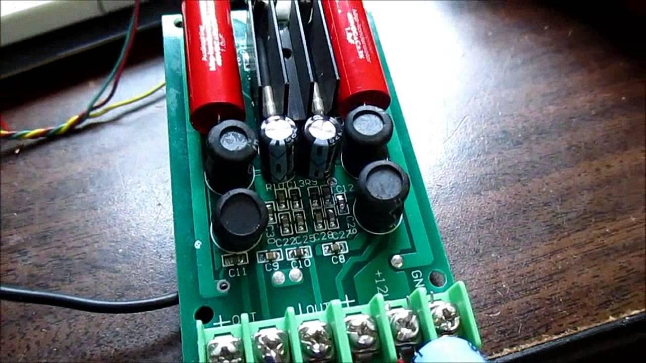 Class D vs  class AB stereo amplifier test/review TA2024 & TDA1558Q