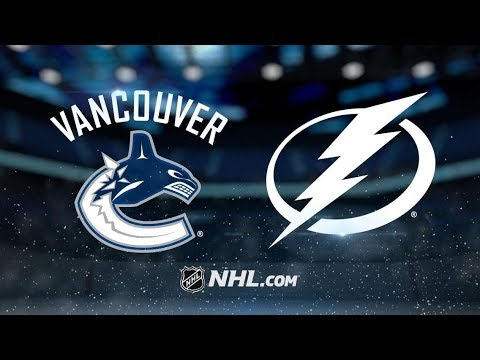 Vancouver Canucks vs Tampa Bay Lightning – Oct.11, 2018 | Game Highlights | NHL 2018/19 |Обзор матча