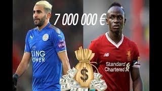 TOP 10 DES FOOTBALLEURS AFRICAINS LES MIEUX PAYÉS EN 2018