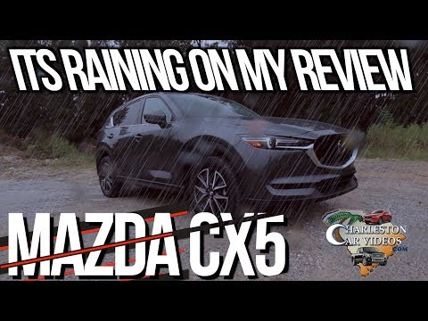 New 2018 MAZDA CX5 GT | REVIEW IN RAIN🌧 Exterior Tips & Interior Features