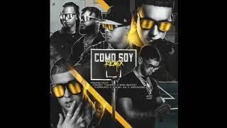 Pacho Ft Daddy Yankee, Bad Bunny, Anuel, Arcángel & Farruko – Como Soy (Official Remix)