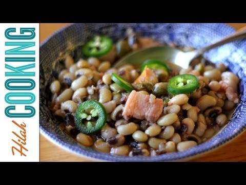 How To Cook Black-Eyed Peas - Southern Black-Eyed Peas Recipe | Hilah Cooking