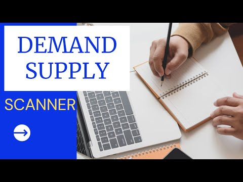 The One and Only Demand and Supply Stock Scanner/Screener