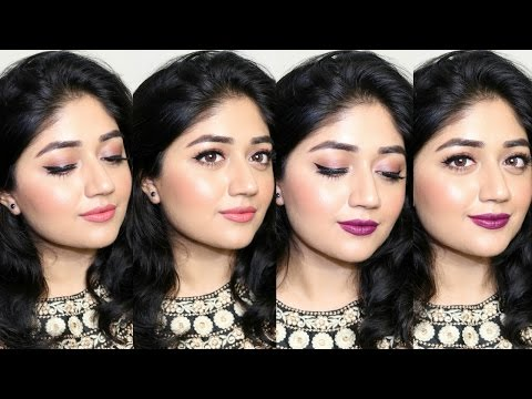 Easy Natural Makeup Tutorial With 2 Lip Options