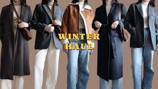 Winter fashion haul • lookbook…
