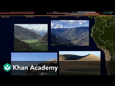 Chavin, Nazca, Moche, Huari and Tiwanaku civilizations | World History | Khan Academy