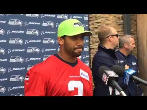 Russell Wilson says Seahawks already have great energy