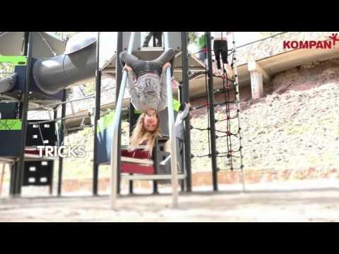 New KOMPAN Mega Deck  -  Moments School Age Range