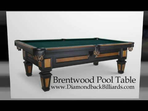 Brentwood Pool Table By Olhausen Billiards Call YouTube - Brunswick brentwood pool table