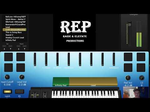 Grateful - By Elevation Worship Mainstage Synth/Keys Tuitorial and Free Patch Download