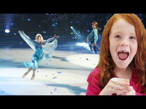 SURPRISE Elsa Disney On Ice Show