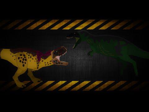 Tarbosaurus Vs Acrocanthosaurus!!
