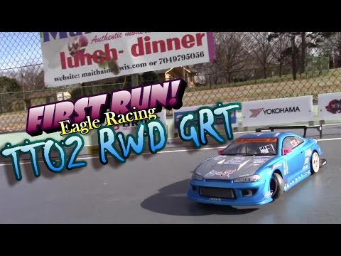 TT02 RWD GRT First RUN