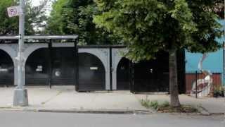 Crazy Courtyard Sculpture Garden - Urban Gardener Video