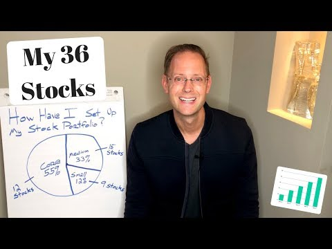 My DIVIDEND PORTFOLIO Stock Allocation Strategy (Investing For Dividends)