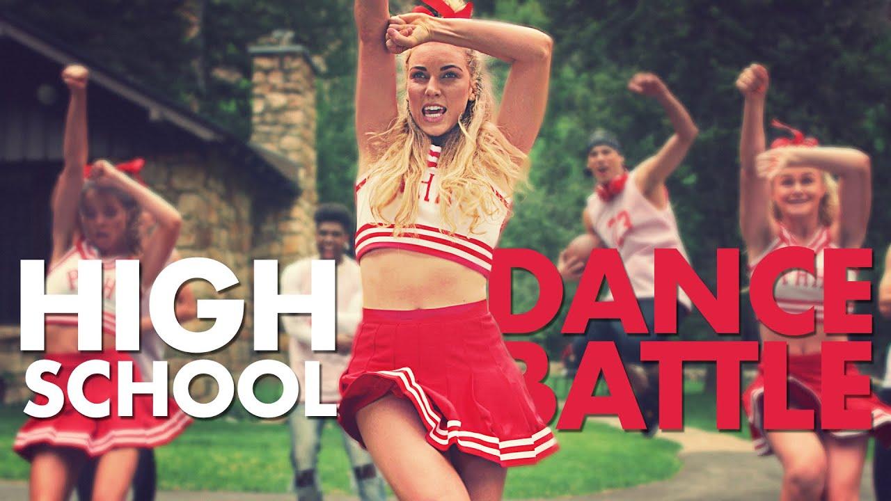 Download HIGH SCHOOL DANCE BATTLE - JOCKS vs CHOIR! // Scott DW