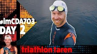 Day 2 of half ironman Coeur D'Alene 70.3 2018 where Triathlon Taren...