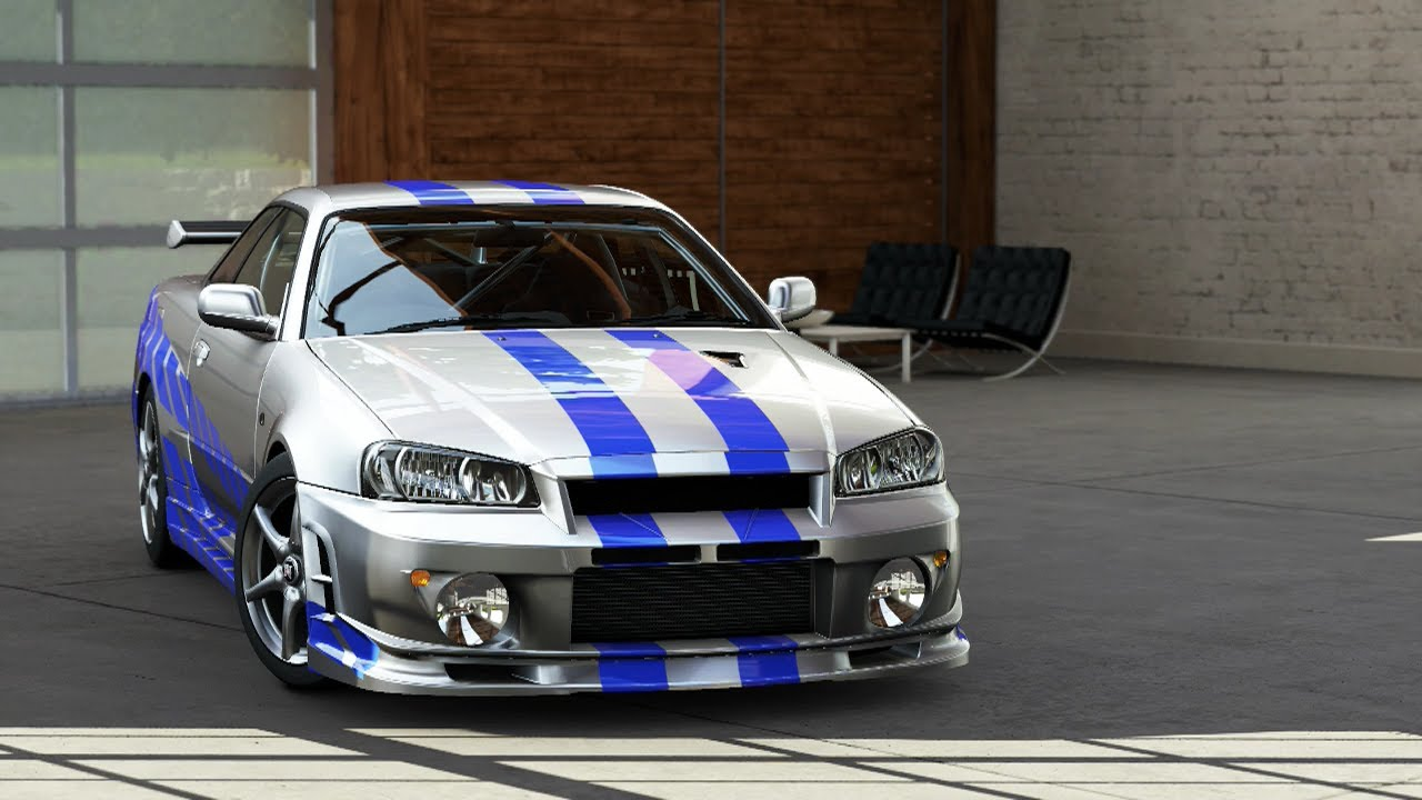 Forza Motorsport 5: Learning About The 2002 Nissan Skyline GT R R34!