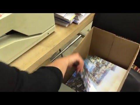 Book binding at DAAP at University of Cincinnati