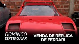 Dentista é processado por construir e vender réplica de Ferrari