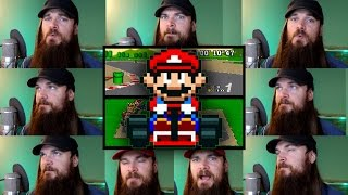 Repeat youtube video Super Mario Kart - Mario Circuit Acapella