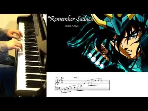 """Remember Sadness""-Saint-Seiya-Piano Cover"