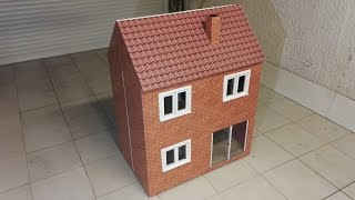 fabriquer une maison de poupe barbie en bois