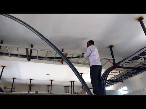 CABLE LAYING IN 600 MM CABLE TRAY |PANEL ROOM|