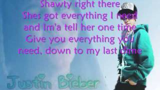 Justin Bieber - One Time (Karaoke) with Lyrics!