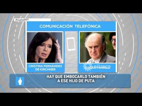 Nueva escucha telefónica legal entre Cristina Kirchner y Oscar Parrilli