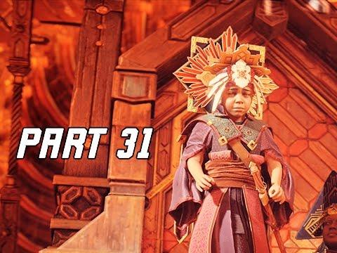 Horizon Zero Dawn Walkthrough Part 31 - MINI SUN-KING (PS4 Pro Let's Play Commentary)