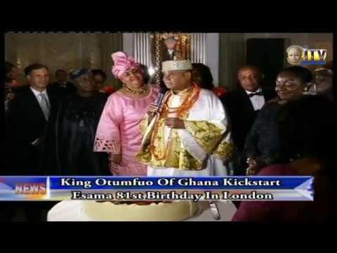 King Otumfuo Of Ghana Kick Start Esama 81st Birthday In London