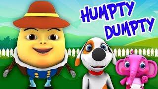 Шалтай-Болтай сидел на стене  Детские песни  Little Treehouse  Humpty Dumpty Sat On a Wall