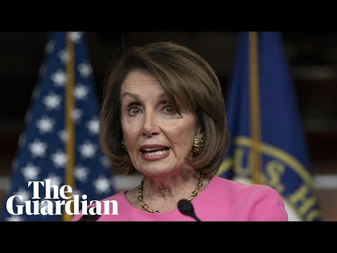 House Speaker Nancy Pelosi reacts to Mueller's statement - watch live