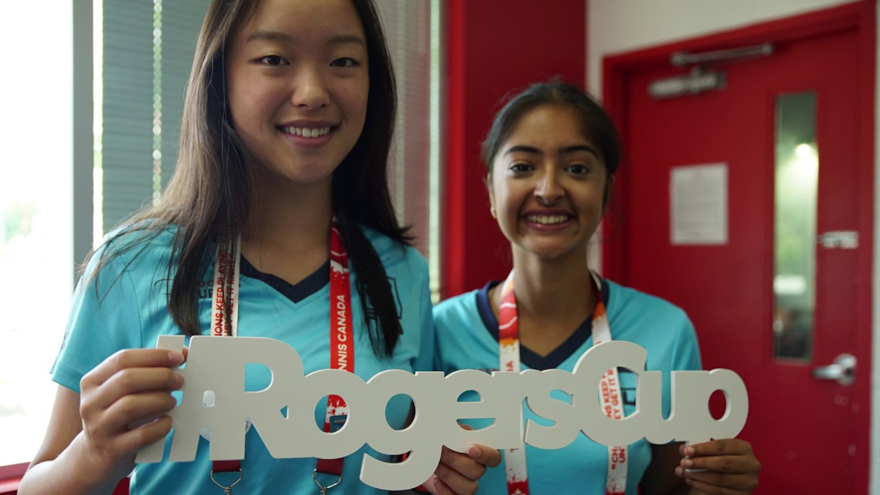 The Rogers Cup 2018 volunteer experience