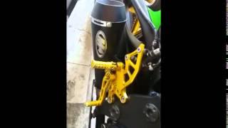 Knalpot Ninja 250 FI Knalpot M4 Underbone