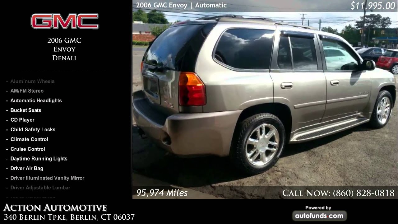 used 2006 gmc envoy action automotive berlin ct sold [ 1920 x 1080 Pixel ]