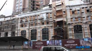 ЖК Покровский Посад - ул. Глубочицкая, 32А, 32Б, 32В Киев видео обзор(На середину лета 2013 года строящийся жилой комплекс